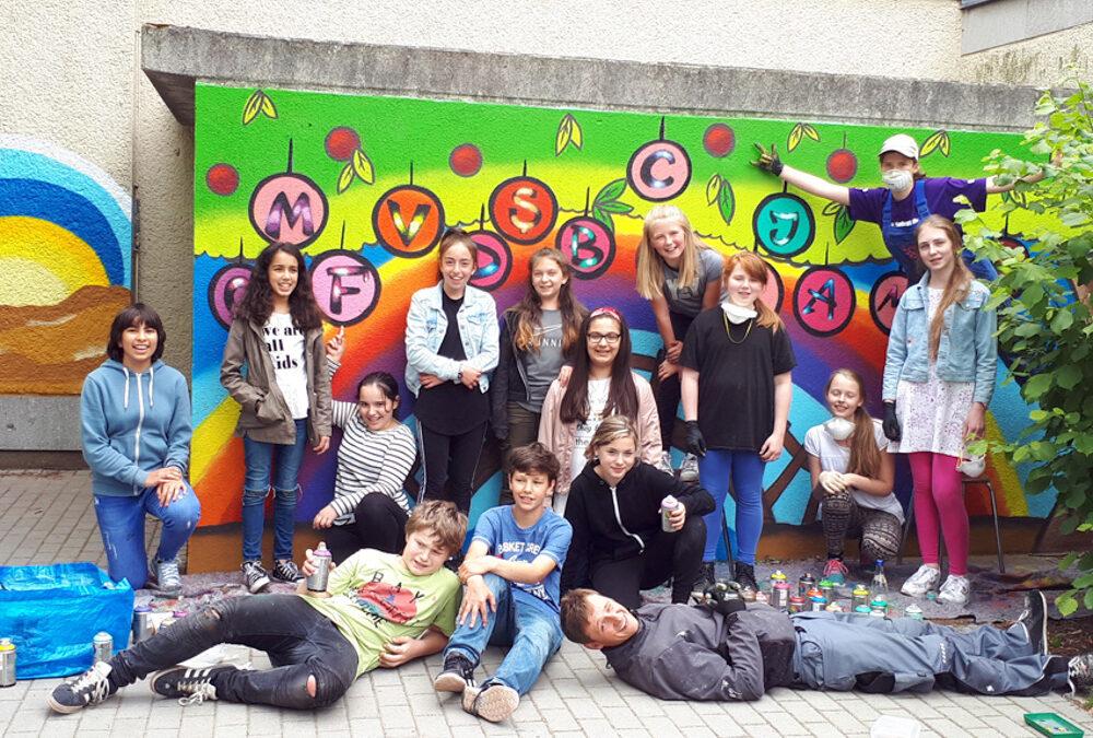 Graffiti–Projekt 2018