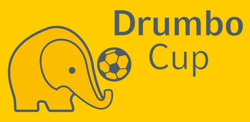 Grafik: Elefant mit Ball unter Schriftzug auf gelbem Hintergrund